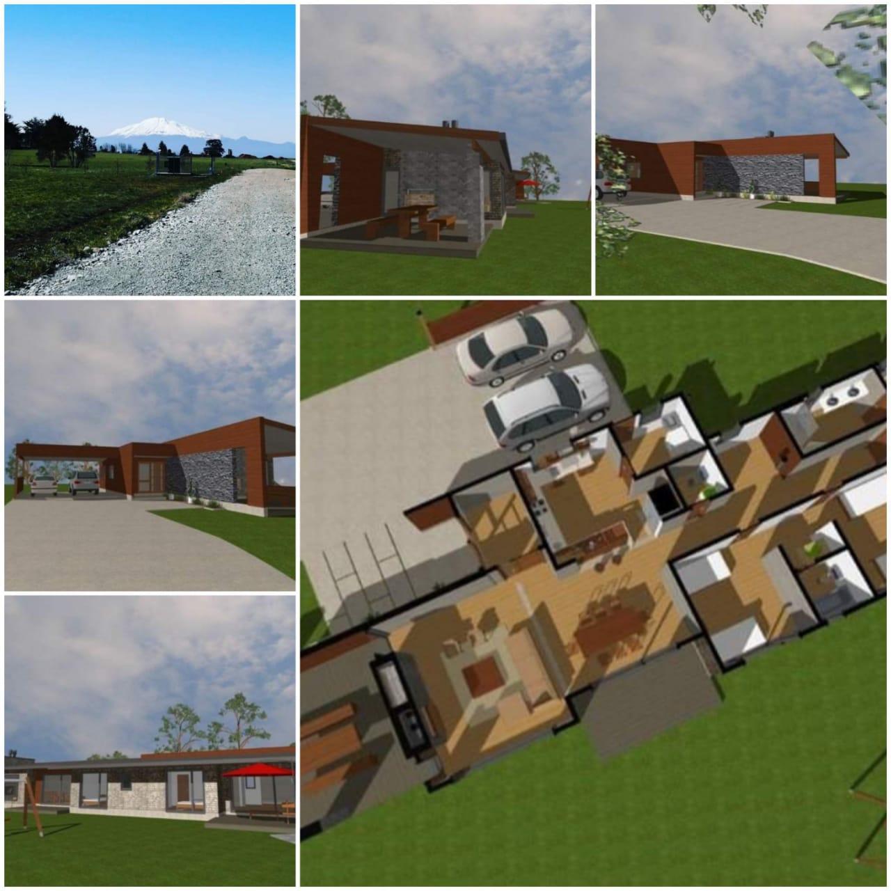 Espectacular y moderna  casa en verde, ubicada en Parcela cercana a Puerto Varas, excelente conectividad